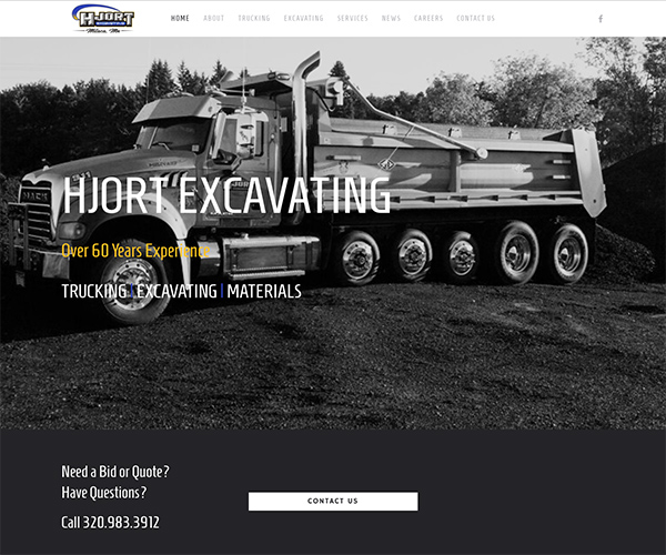 hjort excavating